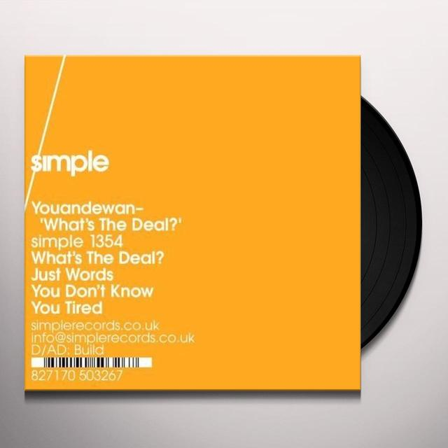 Youandewan WHAT'S THE DEAL Vinyl Record