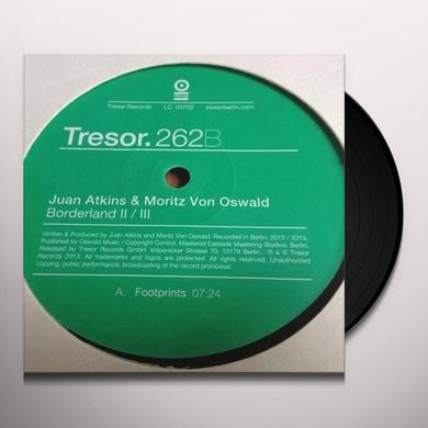 Juan Atkins & Mortiz Von Oswald BORDERLAND 2/3 Vinyl Record