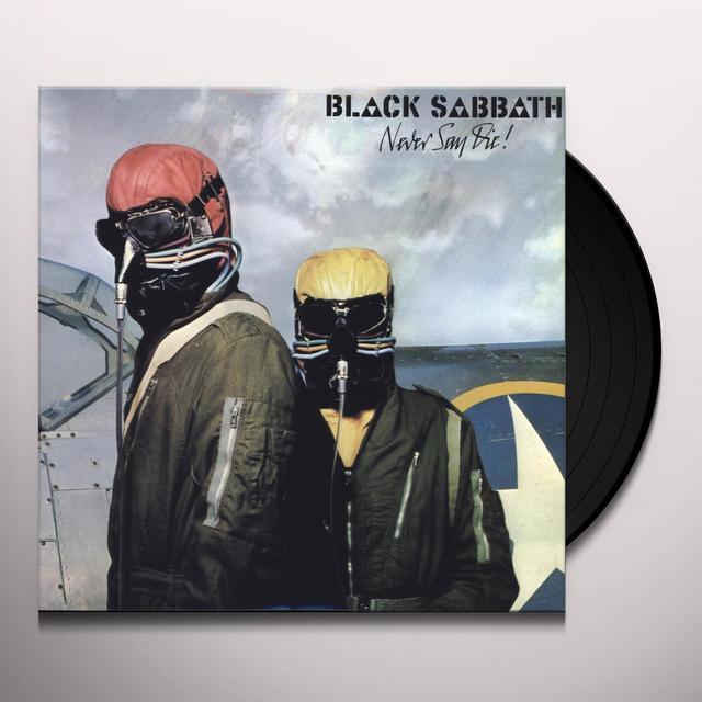 Black Sabbath NEVER SAY DIE Vinyl Record - 180 Gram Pressing