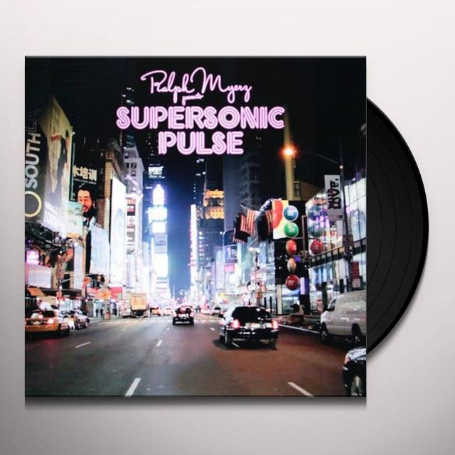 Ralph Myerz SUPERSONIC PULSE Vinyl Record