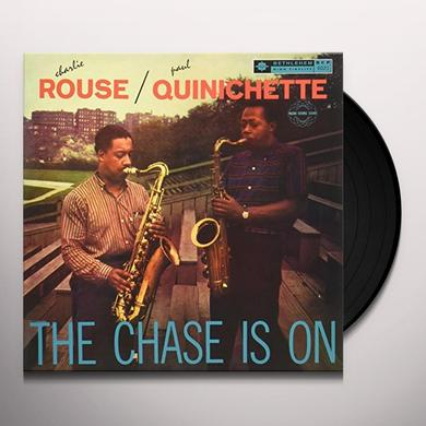 Charlie Rouse / Paul Quinichette CHASE IS ON Vinyl Record