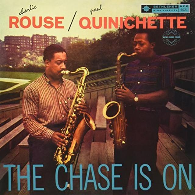 Charlie Rouse / Paul Quinichette CHASE IS ON Vinyl Record - 180 Gram Pressing