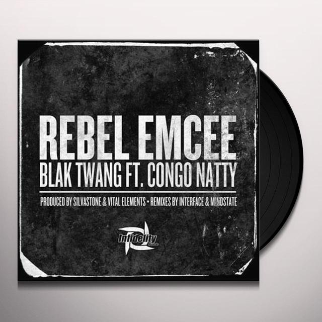 Blak Twang REBEL EMCEE Vinyl Record