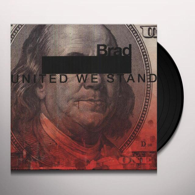 Brad UNITED WE STAND Vinyl Record - Holland Import
