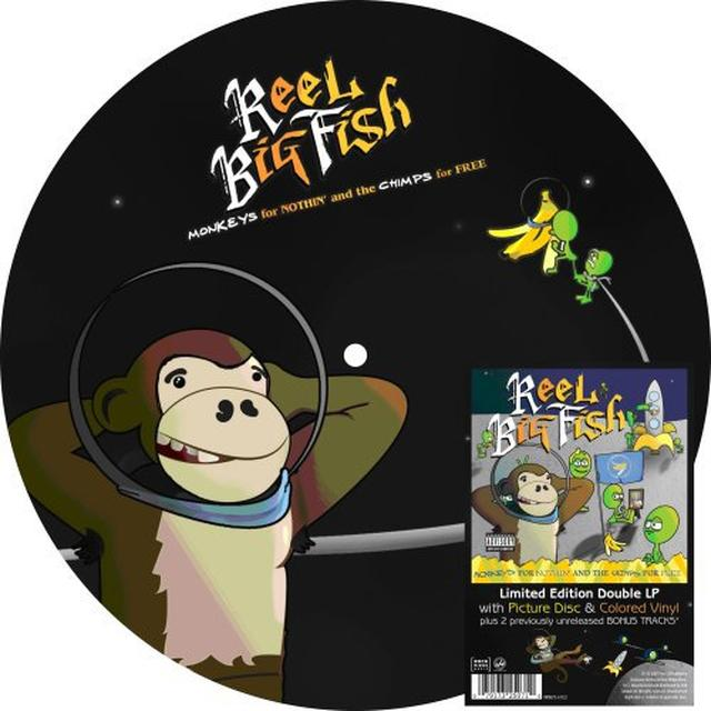 Reel Big Fish MONKEYS FOR NOTHIN Vinyl Record
