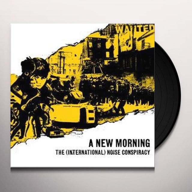 The (International) Noise Conspiracy NEW MORNING CHANGING WEATHER Vinyl Record