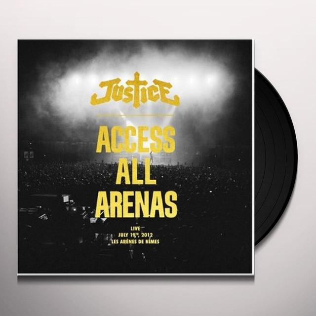 Justice ACCESS ALL ARENAS Vinyl Record