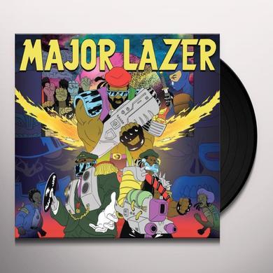 Major Lazer FREE THE UNIVERSE Vinyl Record