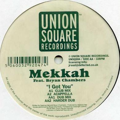 Mekkah I GOT YOU Vinyl Record