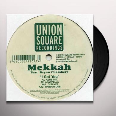 Mekkah I GOT YOU Vinyl Record