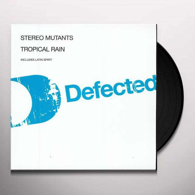 Stereo Mutants TROPICAL RAIN Vinyl Record