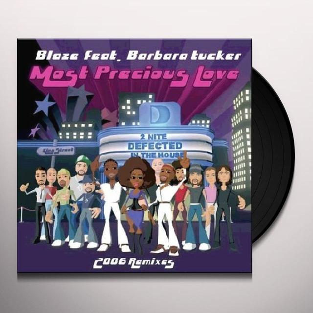 Barbara Blaze / Uda / Tucker MOST PRECIOUS LOVE (Vinyl)