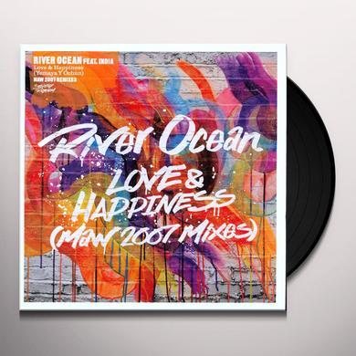 River Ocean / India LOVE & HAPPINESS Vinyl Record