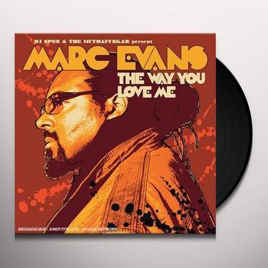 Dj Spen & The Muthafunkaz WAY YOU LOVE ME Vinyl Record