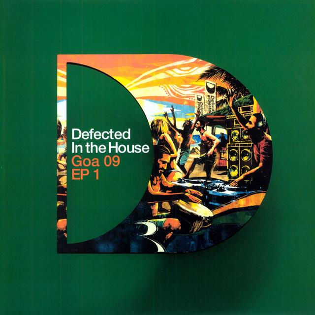 DEFECTED IN THE HOUSE: GOA 09 EP1 / VARIOUS Vinyl Record - UK Release