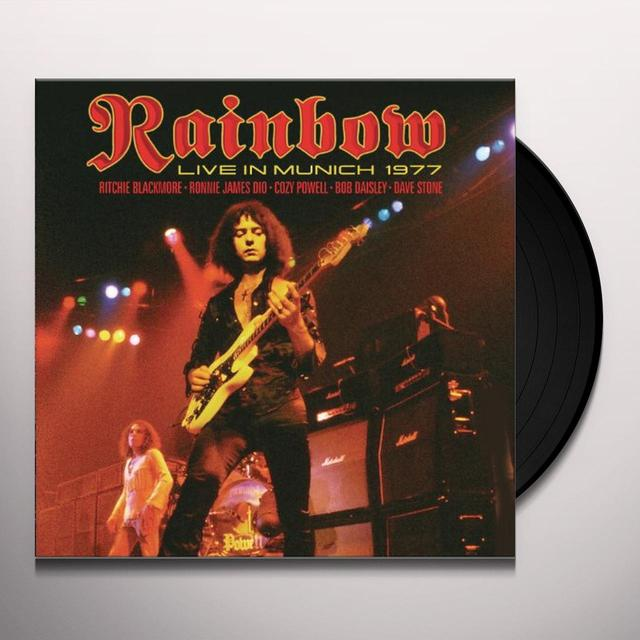 Rainbow LIVE IN MUNICH 1977 Vinyl Record