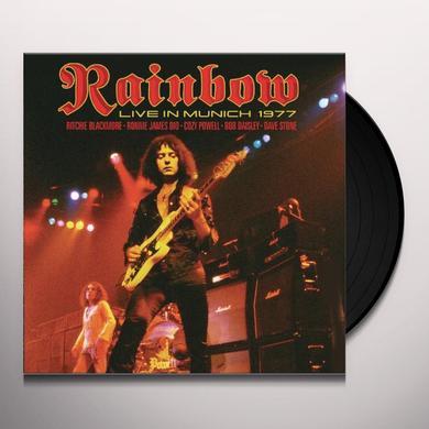 Rainbow LIVE IN MUNICH 1977 Vinyl Record