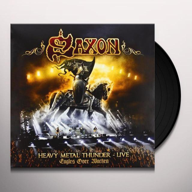 Saxon HEAVY METAL THUNDER: LIVE EAGLES OVER WACKEN Vinyl Record