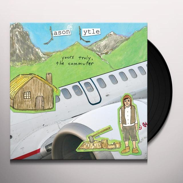 Jason Lytle YOURS TRULY THE COMMUTER Vinyl Record - UK Release
