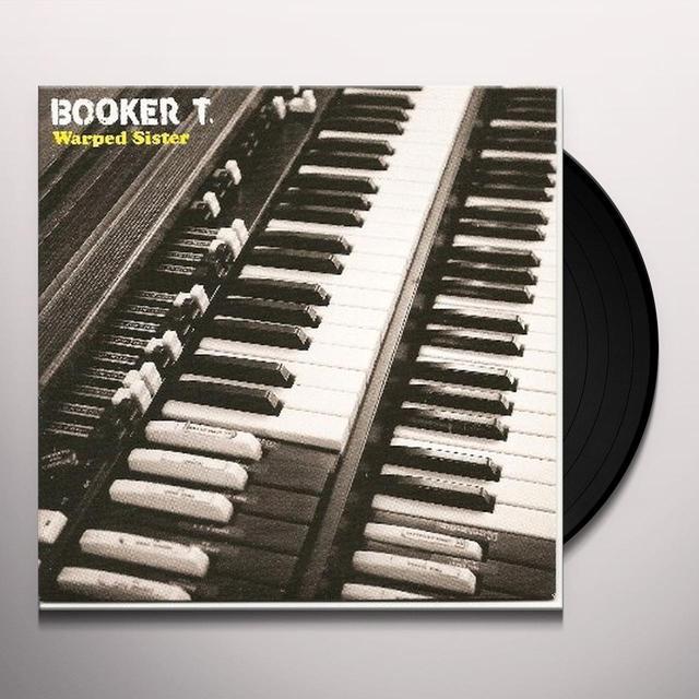 Booker T Jones WARPED SISTER Vinyl Record