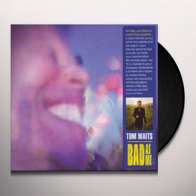 Tom Waits BAD AS ME Vinyl Record
