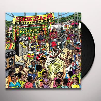 Sizzla GHETTO YOUTH-OLOGY Vinyl Record - UK Import