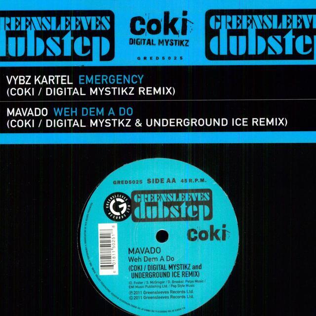 Vybz Kartel & Mavado EMERGENCY Vinyl Record