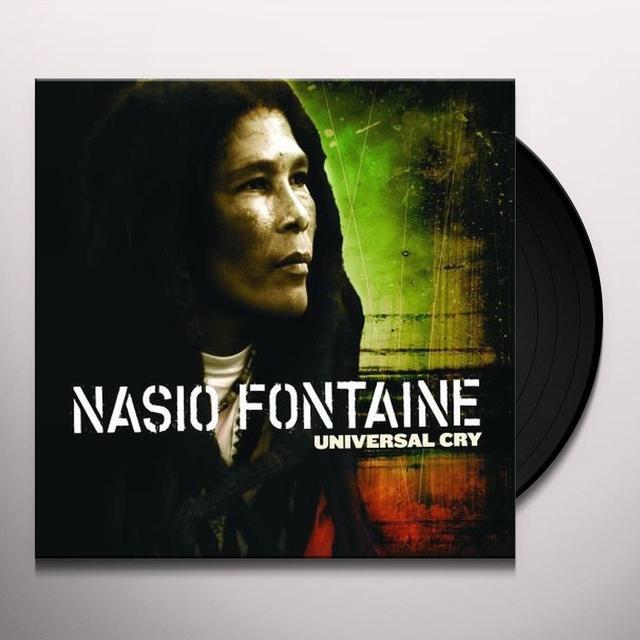 Nasio Fontaine UNIVERSAL CRY Vinyl Record