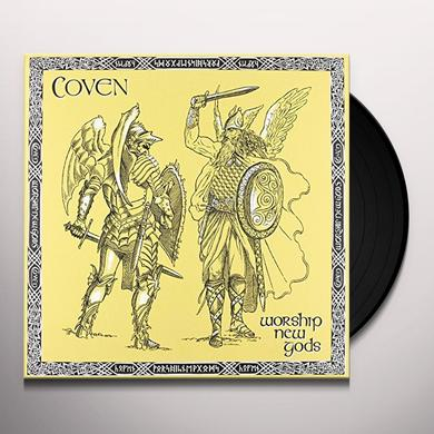 Coven WORSHIP NEW GODS Vinyl Record - Remastered