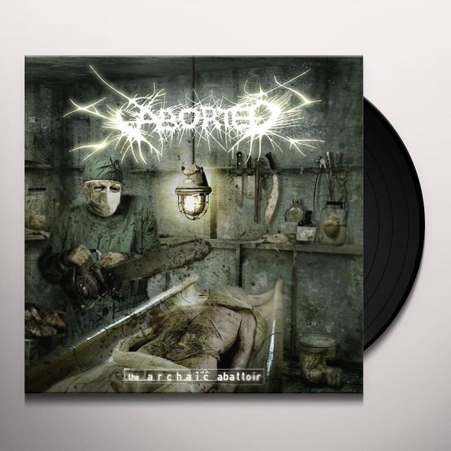Aborted ARCHAIC ABATTOIR Vinyl Record