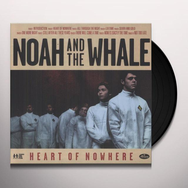 Noah & The Whale HEART OF NOWHERE Vinyl Record