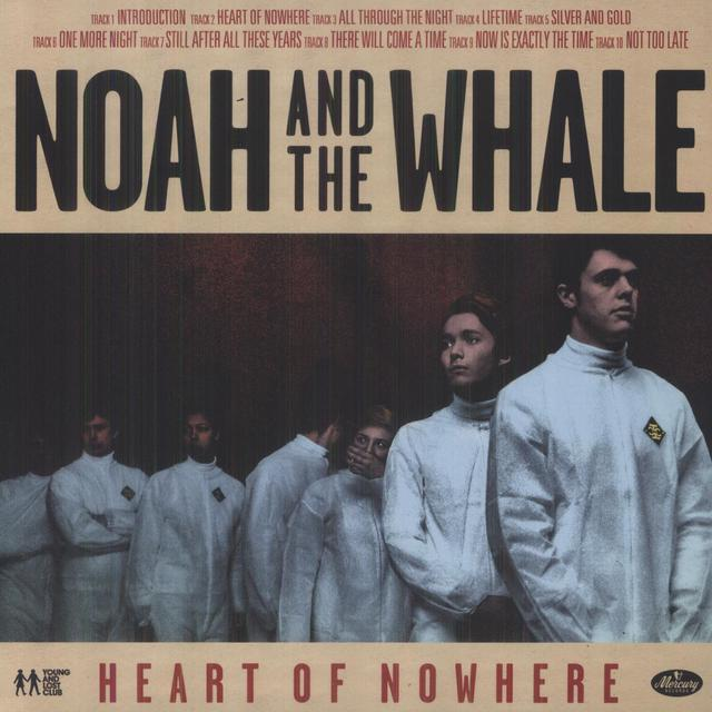 Noah & The Whale HEART OF NOWHERE Vinyl Record - UK Import