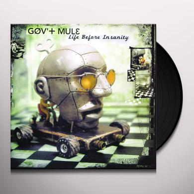 Govt Mule LIFE BEFORE INSANITY Vinyl Record