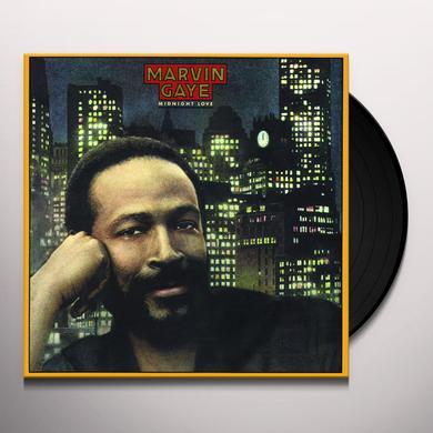 Marvin Gaye MIDNIGHT LOVE Vinyl Record