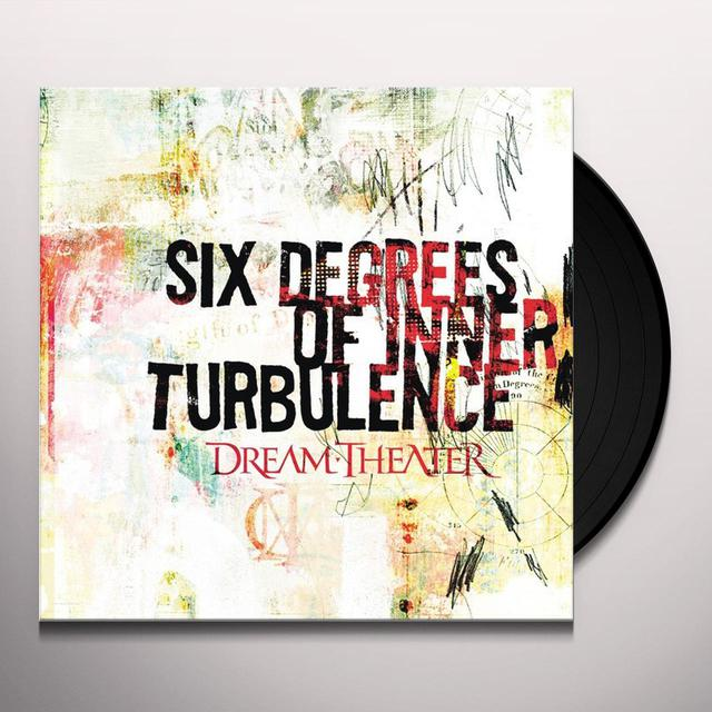 Dream Theater SIX DEGREES OF INNER TURBULENCE Vinyl Record