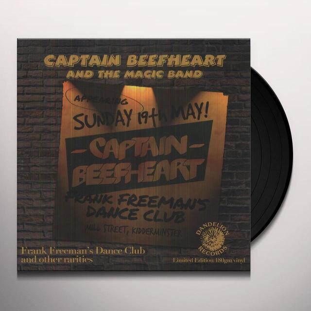 Captain Beefheart FRANK FREEMAN'S DANCE CLUB Vinyl Record - 180 Gram Pressing