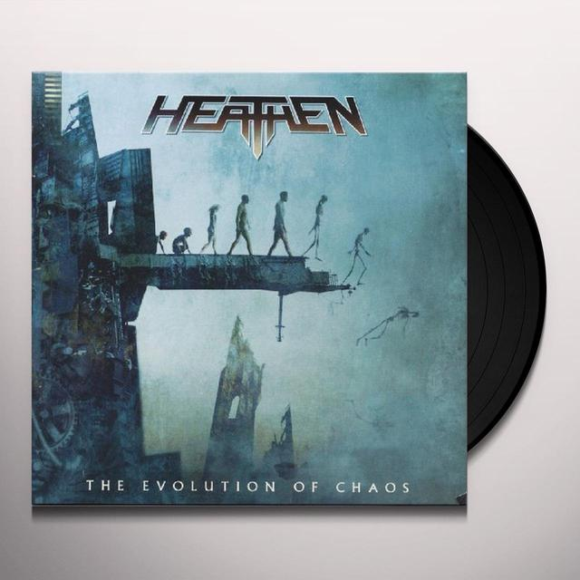 Heathen EVOLUTION OF CHAOS Vinyl Record