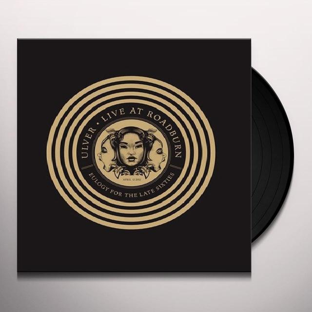 Ulver LIVE AT ROADBURN 2012 Vinyl Record - Limited Edition