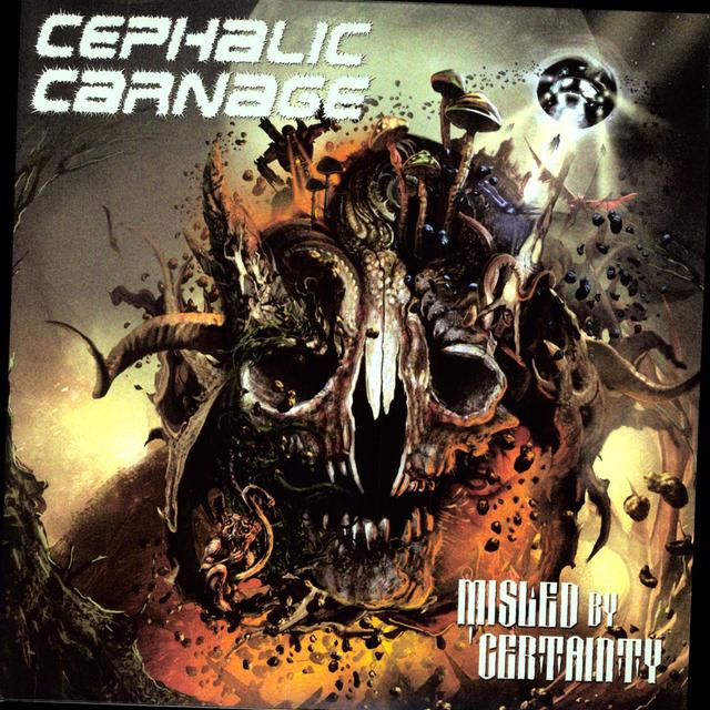Cephalic Carnage MISLED BY CERTAINTY Vinyl Record