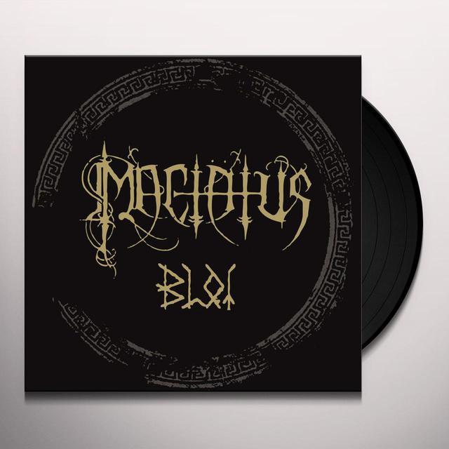 Mactatus BLOT Vinyl Record