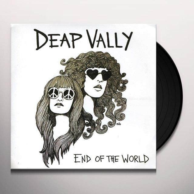 Deap Vally END OF THE WORLD Vinyl Record