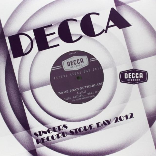 Joan Sutherland / Kathleen Ferrier DECCA RECORDS: SINGERS (10IN) (Vinyl)