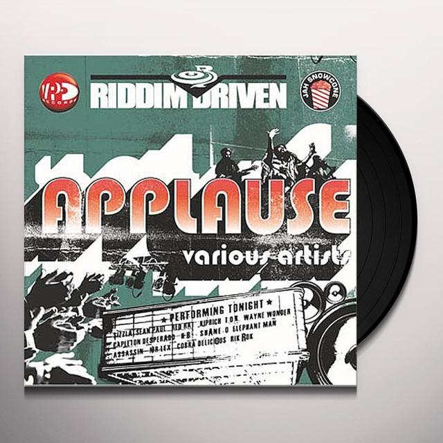 RIDDIM DRIVEN APPLAUSE / VARIOUS Vinyl Record - UK Import