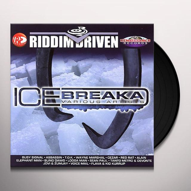 RIDDIM DRIVEN ICE BREAKA / VARIOUS Vinyl Record