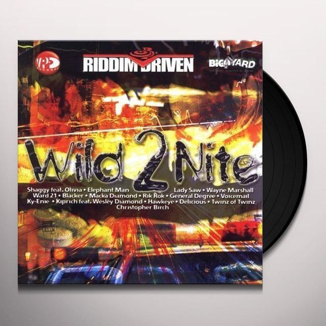 RIDDIM DRIVEN WILD 2 NITE / VARIOUS Vinyl Record