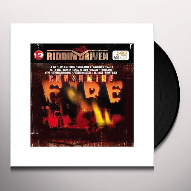 CONSUMING FIRE RIDDIM DRIVEN / VARIOUS Vinyl Record