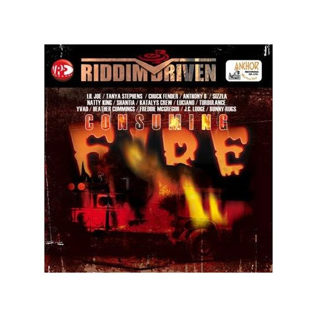CONSUMING FIRE RIDDIM DRIVEN / VARIOUS Vinyl Record
