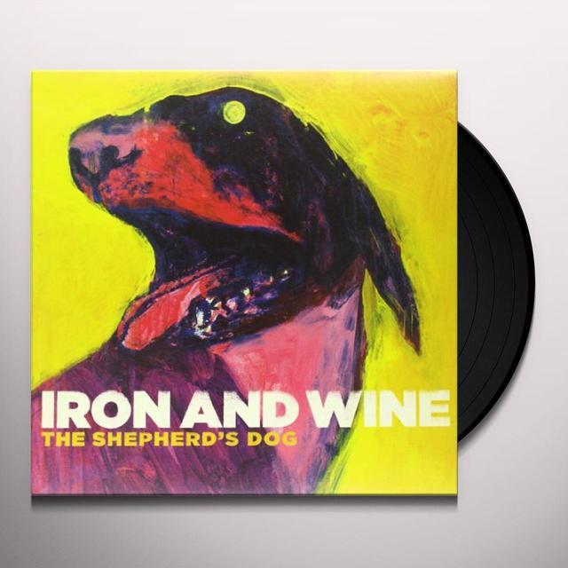 Iron & Wine SHEPHERD'S DOG Vinyl Record