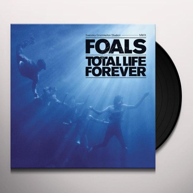 Foals TOTAL LIFE FOREVER Vinyl Record - UK Import