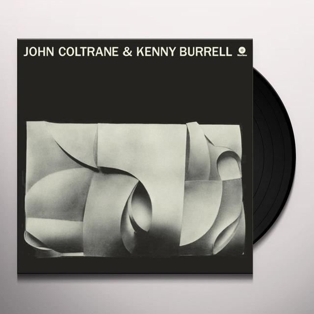 JOHN COLTRANE & KENNY BURRELL (BONUS TRACK) Vinyl Record - 180 Gram Pressing